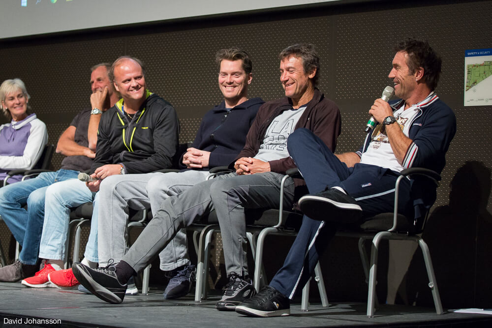 Kings of Tennis 2016 - Judy Murray, Thomas Muster, Håkan Dahlbo, Thomas Enqvist, Mats Wilander, Pat Cash